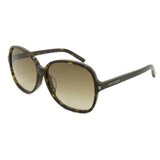 Saint Laurent Classic 8 F Women's Rectangular Sunglasses|https://ak1.ostkcdn.com/images/products/12951324/P19701811.jpg?impolicy=medium