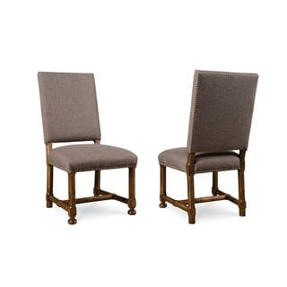 A.R.T. Furniture Echo Park Brown Wood Upholstered Dining Chair (Set of 2)