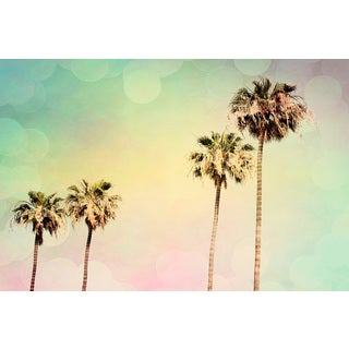 Marmont Hill - 'Palm Trees II' Painting Print on Wrapped Canvas