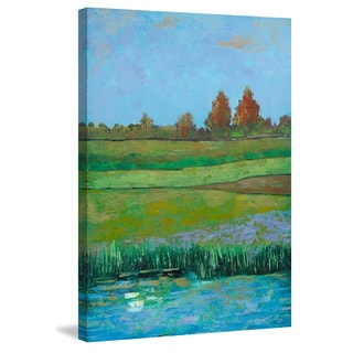 Marmont Hill - 'Impressionist Meadow II' Painting Print on Wrapped Canvas