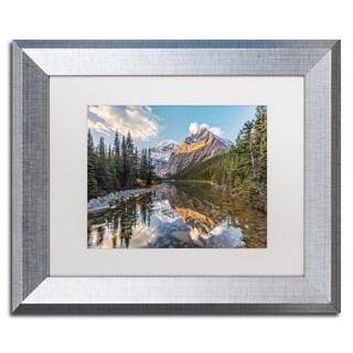 Pierre Leclerc 'Jasper National Park' Matted Framed Art
