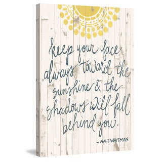 Marmont Hill - 'Shadows Will Fall' Painting Print on Wrapped Canvas