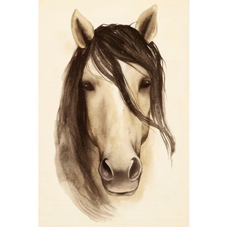 Marmont Hill - 'Horse Bangs' Painting Print on Wrapped Canvas