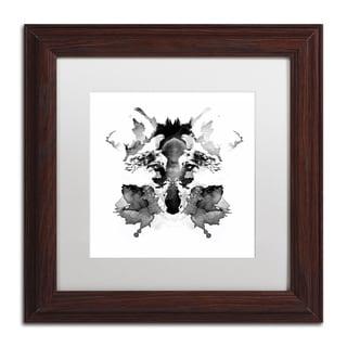 Robert Farkas 'Rorschach' Matted Framed Art