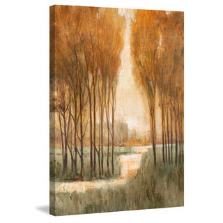 Marmont Hill - 'Golden Forest I' Painting Print on Wrapped Canvas