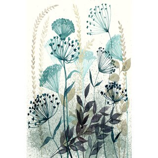 Marmont Hill - 'Allayed Floral I' Painting Print on Wrapped Canvas