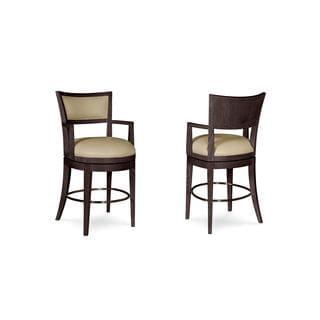 A.R.T. Furniture Greenpoint Coffee Bean High Dining Chair (Set of 2)