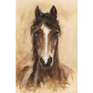 Marmont Hill - 'Shaded Horse' Painting Print on Wrapped Canvas