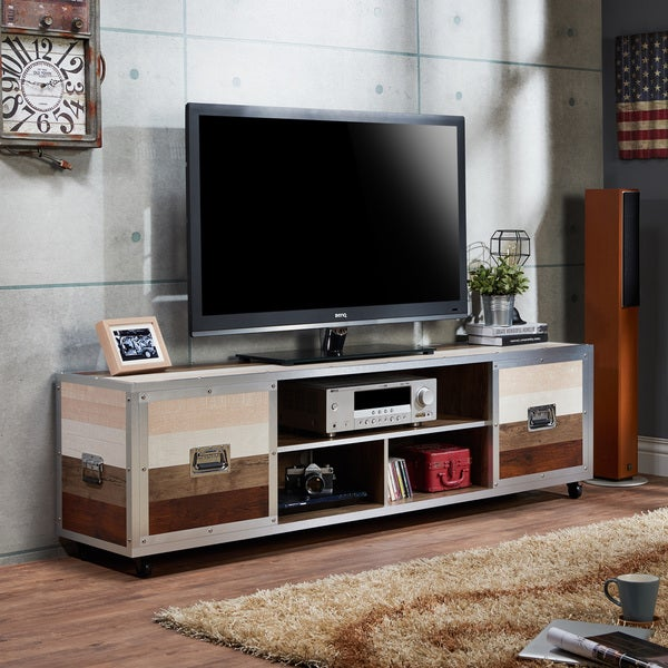 contemporary industrial furniture. Brilliant Industrial Furniture Of America Kenzy Contemporary Industrial 70inch Entertainment  UnitTV Stand To