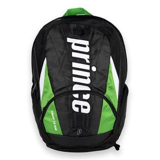 Prince Tour Team Green Nylon Backpack Tennis Bag