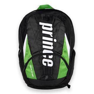 Prince Tour Team Green Nylon Backpack Tennis Bag