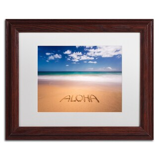 Pierre Leclerc 'Aloha' Matted Framed Art