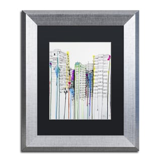 Marc Allante 'Hold Your Breath' Matted Framed Art