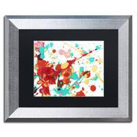 Amy Vangsgard 'Paint Party 2' Matted Framed Art