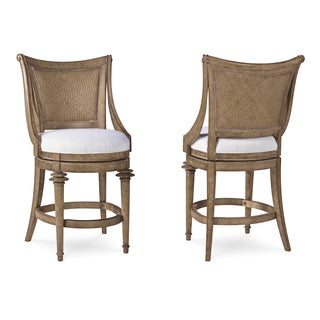 A.R.T. Furniture Pavilion Woven Back High Dining Chair (Set of 2)