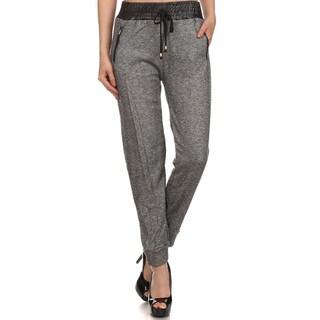 Women's Faux Leather Pants