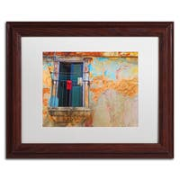 Masters Fine Art 'Havana Balcony' Matted Framed Art