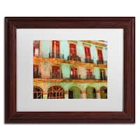 Masters Fine Art 'Memories Havana' Matted Framed Art