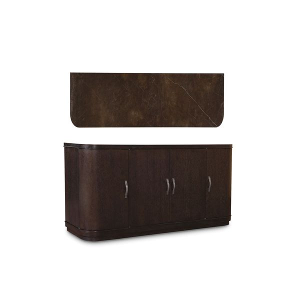 Shop A.R.T. Furniture Greenpoint Coffee Bean Buffet   Free Shipping Today    Overstock   12957405