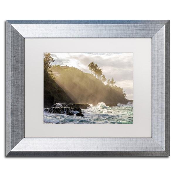 Shop Pierre Leclerc \'Beach Sunlight\' Matted Framed Art - Free ...