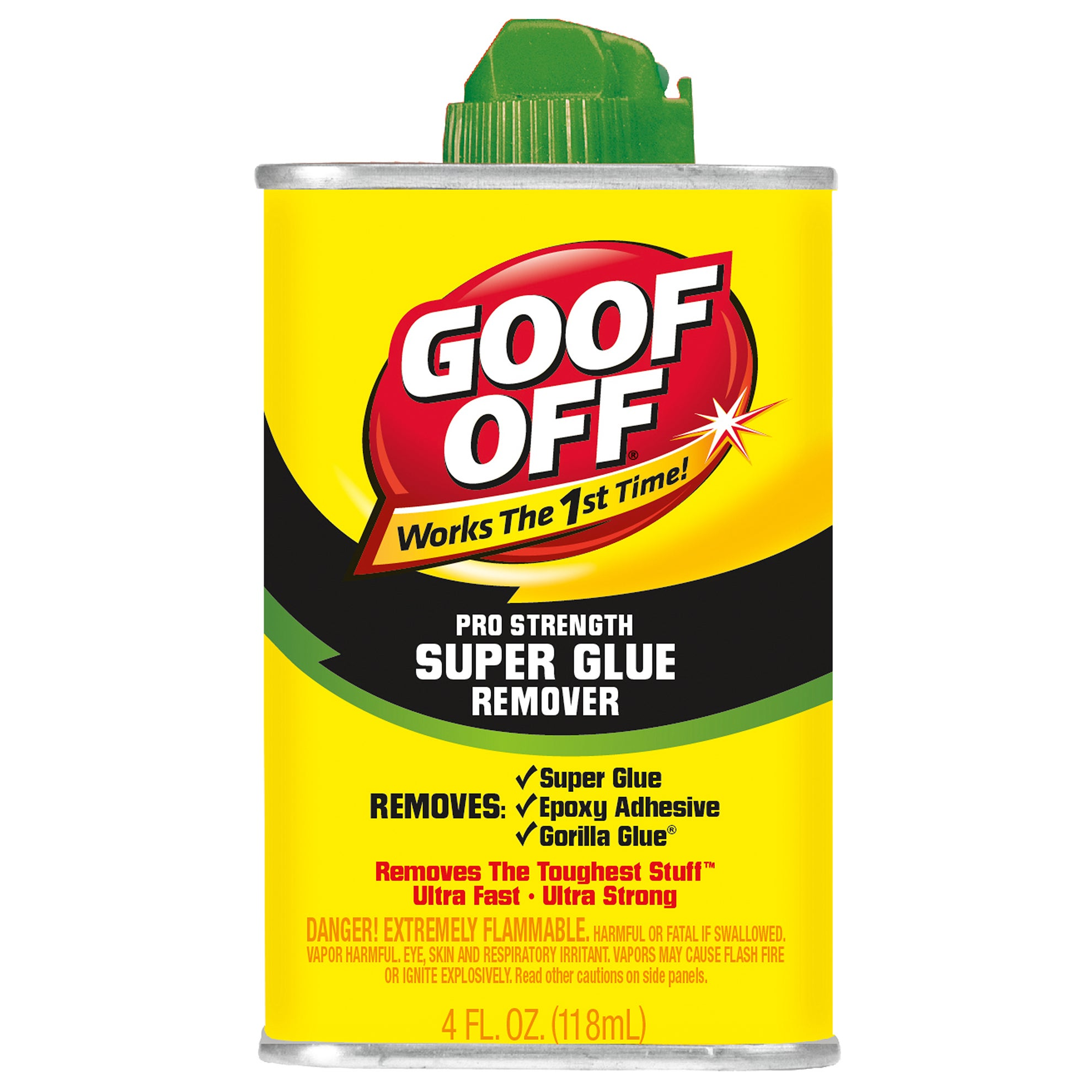 Jensen Goof Off FG677 4 Oz Goof Off Super Glue Remover (G...