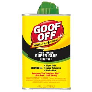 Goof Off FG677 4 Oz Goof Off Super Glue Remover|https://ak1.ostkcdn.com/images/products/12957604/P19707578.jpg?impolicy=medium