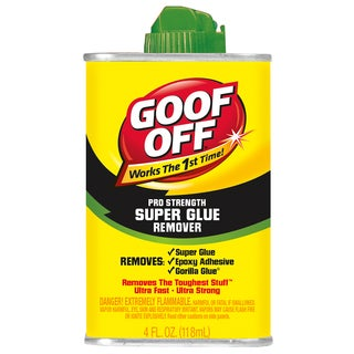 Goof Off FG677 4 Oz Goof Off Super Glue Remover