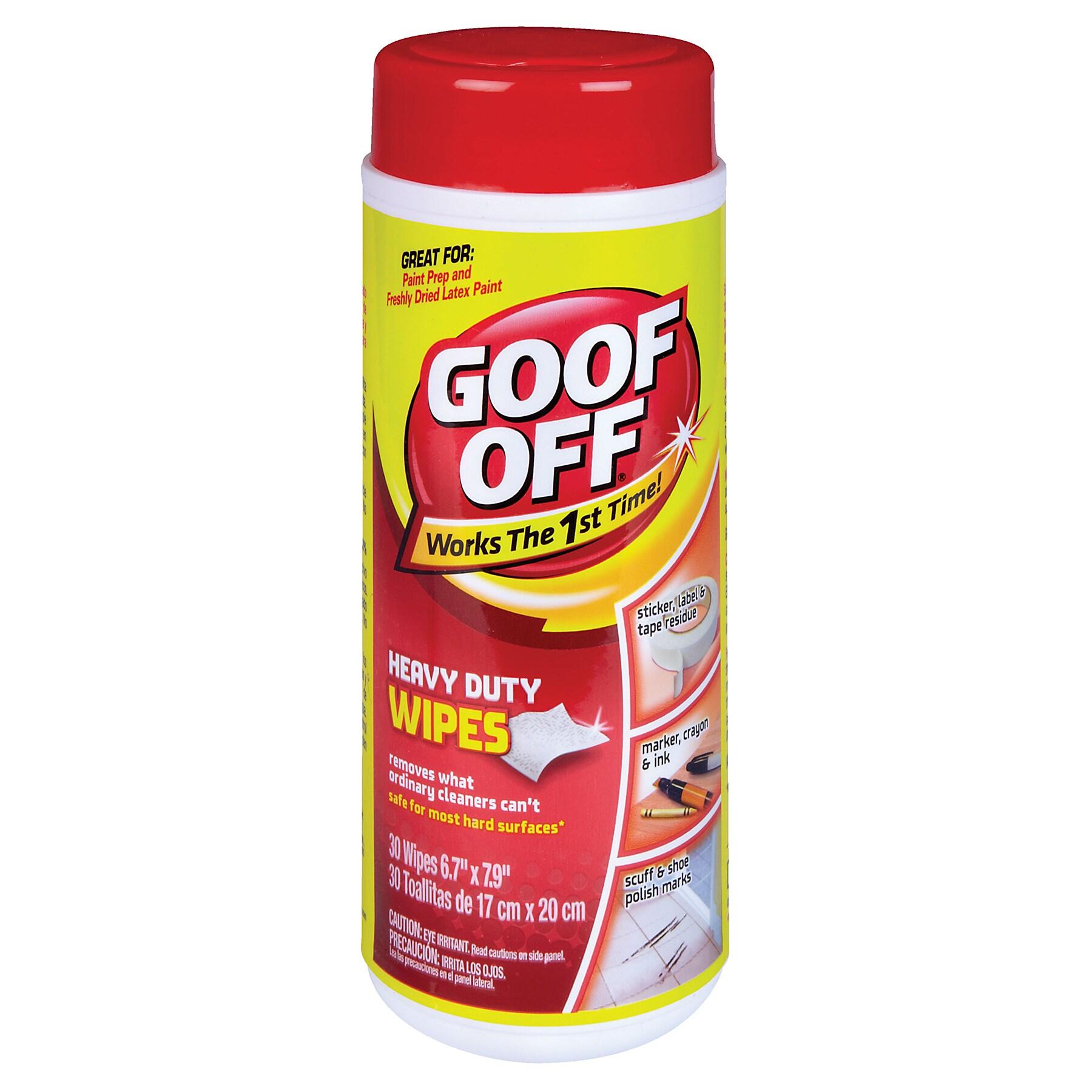 "Jensen Goof Off FG685 36 Count 10"" X 12"" Goof Off Wipes (..."
