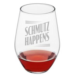 Schmutz Happens Stemless Wine Glass (Set of 4)