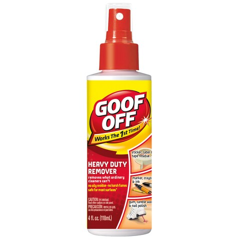 Goof Off FG705 4 Oz Goof Off Heavy Duty Remover Pump Spray