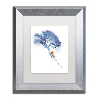 Robert Farkas 'There's No Way Back' Matted Framed Art