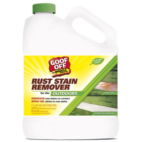RustAid GSX00101 1 Gallon Goof Off Rust Stain Remover