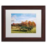 Michael Blanchette Photography 'The Old Rake' Matted Framed Art