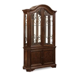 A.R.T. Furniture La Viera Curio Brown Wood China Base