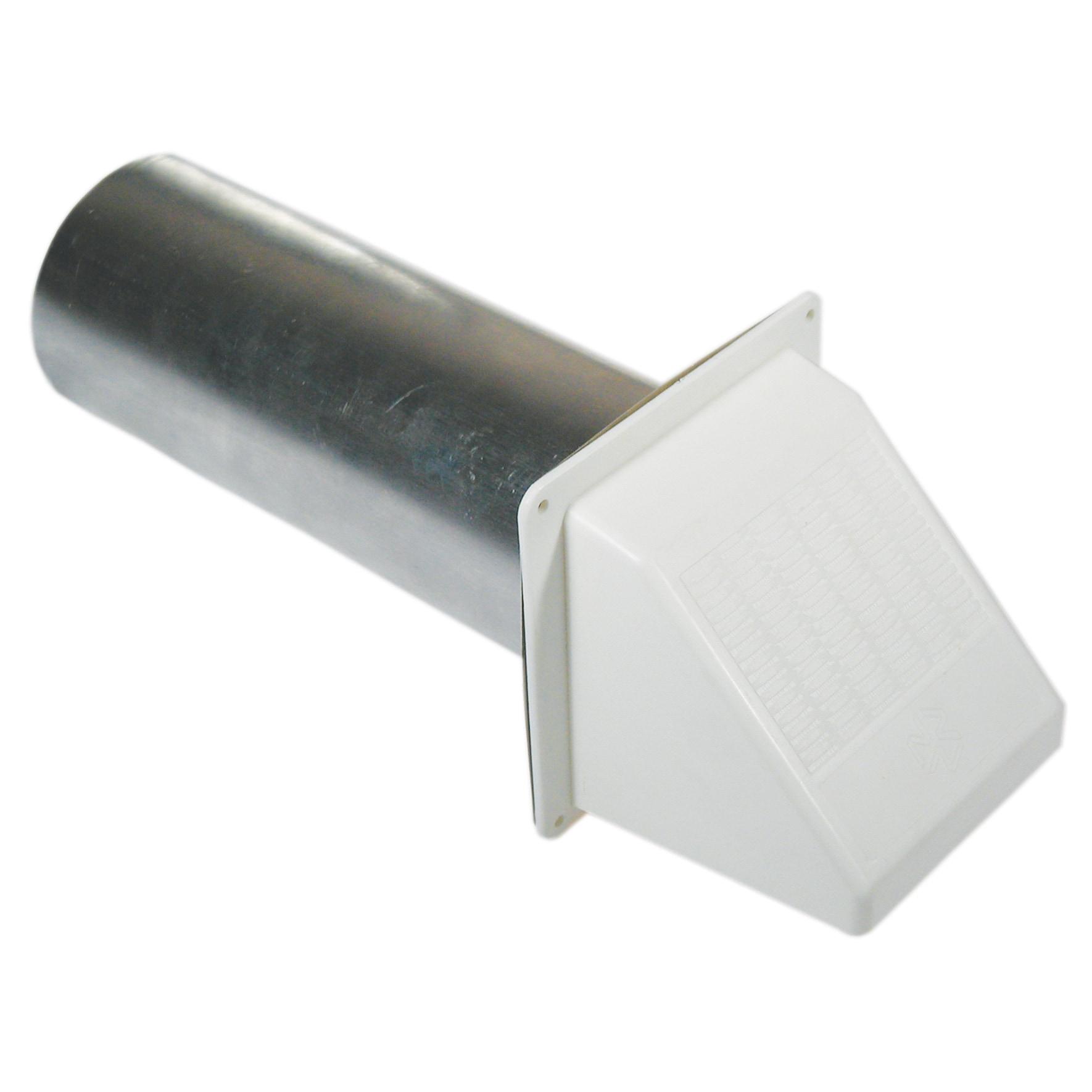 """Jensen Builders Best 010113 4"""" White Plastic Wide Mouth V..."""