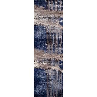 Momeni Monterey Blue Runner Rug (2'3 X 7'6)