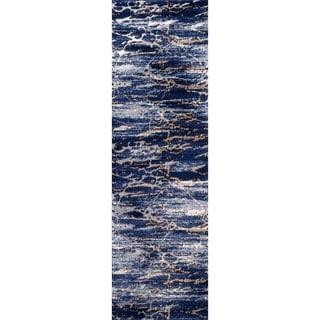 Porch & Den Padilla Blue Runner Rug