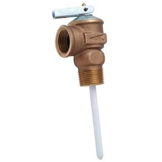 """Cash Acme 15836A-0150 3/4"""" 150 PSI Temperature & Pressure Relief Valves"""