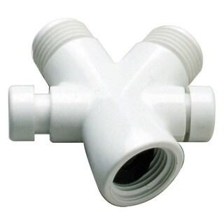 Plumb Craft Waxman 7657520B White Shower Diverter Valve
