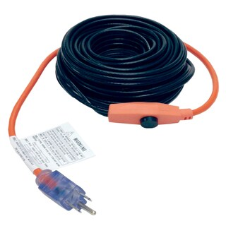 M-D 64386 9' Pipe Heating Cable With Thermostat