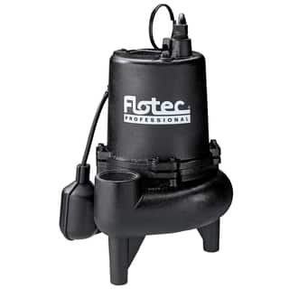 Flotec E75STVT 3/4 HP Cast Iron Professional Series Sewage Pump|https://ak1.ostkcdn.com/images/products/12958430/P19708207.jpg?impolicy=medium