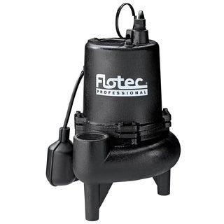Flotec E75STVT 3/4 HP Cast Iron Professional Series Sewage Pump