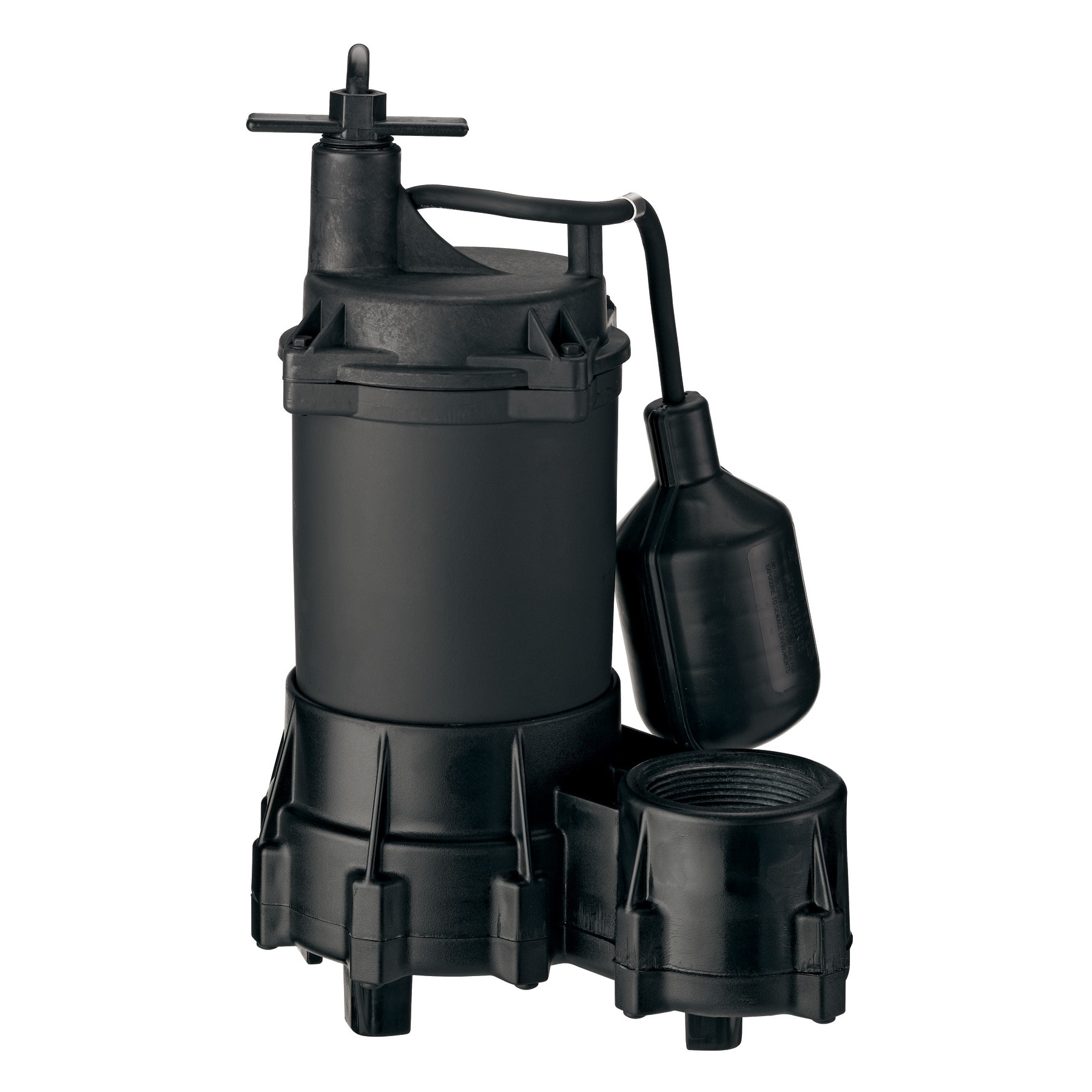 Jensen Flotec FPSE2800A 1/3 HP Submersible Effluent Pump ...