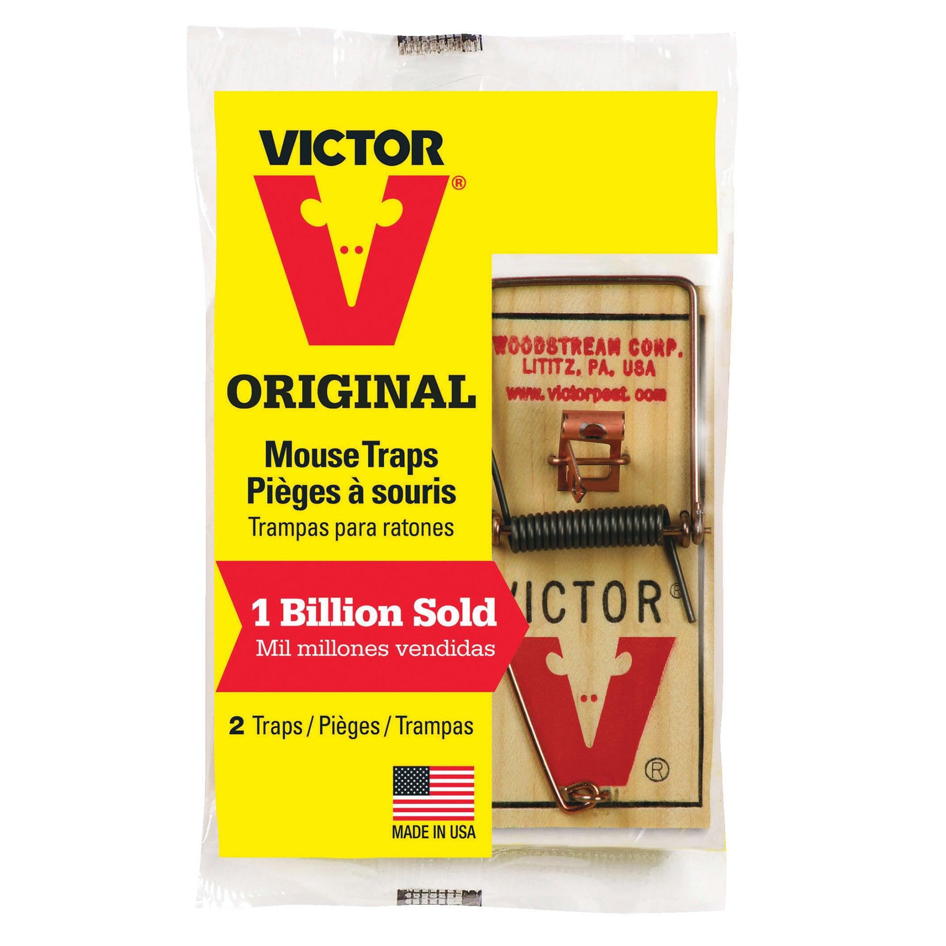 Jensen Victor M098 Mouse Traps (Trap Mouse 2cd), Yellow b...