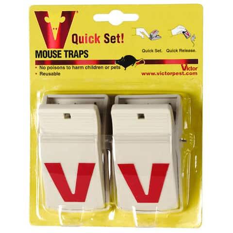 Victor M130 Quick Set. Mouse Trap