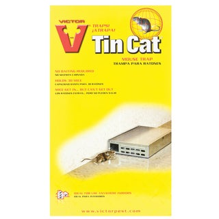 Victor M310S Tin Cat® Live Catch Mouse Trap