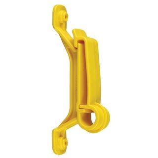 Zareba IWTNY-RS Yellow Wood Post Insulator 25 Count