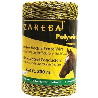 Zareba PW656Y6-Z 200 Meter Polywire|https://ak1.ostkcdn.com/images/products/12958549/P19708298.jpg?impolicy=medium