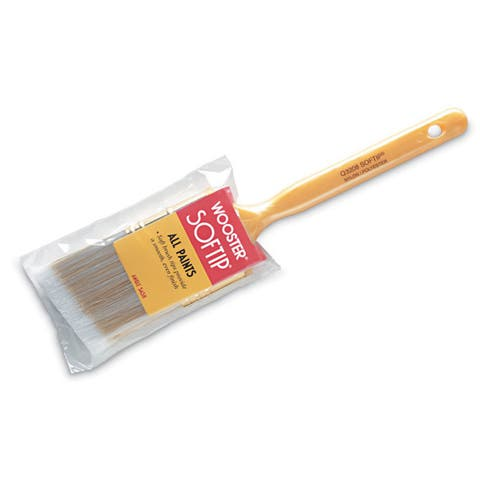 "Wooster Q3208-1 1/2 1-1/2"" Softip Angle Sash Paintbrush"