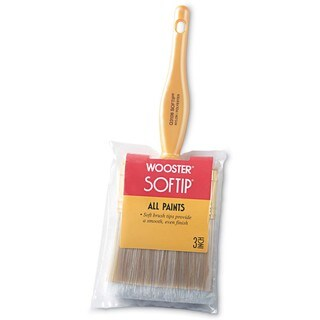 """Wooster Q3108-3 3"""" Softip Paintbrushes"""